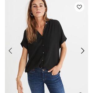 NWT Madewell central drapey shirt